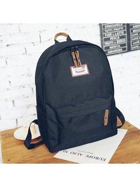 bdf47187b578 Product Image Womens Mens Backpack Travel Canvas Satchel School Shoulder Rucksack  Satchel Bags