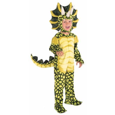 Kids Plush Triceratops Costume - Triceratops Costume 4 6