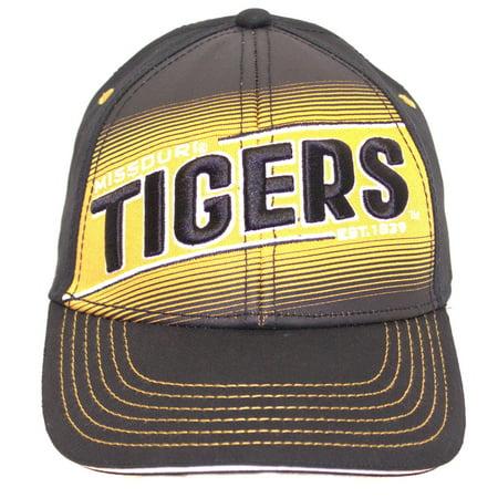 NCAA Licensed Mizzou Tigers Structured Fit Baseball Hat Cap Lid](Mizzou Hats)