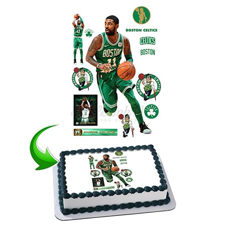 Kyrie Irving Edible Image Cake Topper Icing Sugar Paper A4 Sheet Edible Frosting Photo Cake 1/4 ~ Best Edible Image for (Best Wedding Cake Frosting)