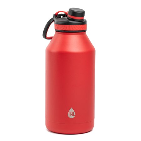 70332a332b9 TAL 64oz Insulated Stainless Steel Ranger™ Pro Water Bottle, Red -  Walmart.com