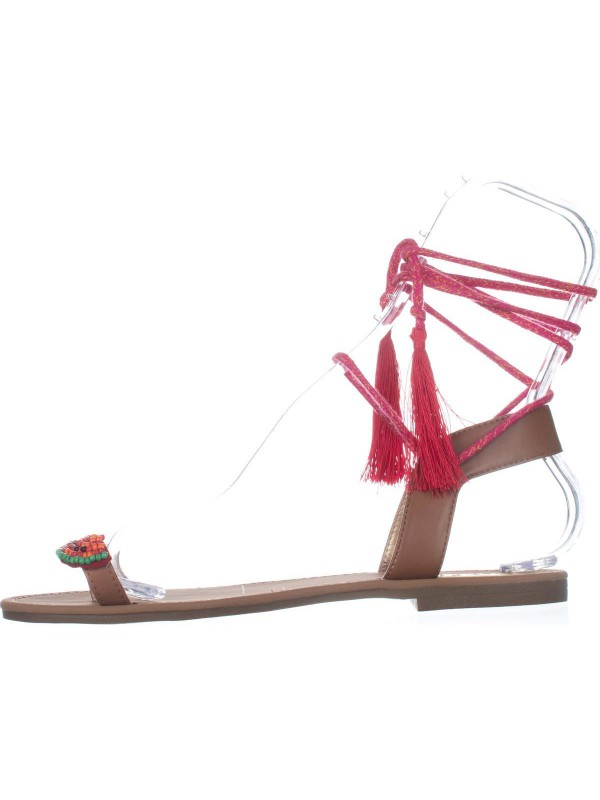 1d8557bba4c6ca Circus by Sam Edelman Binx5 Toe Ring Lace Up Sandals