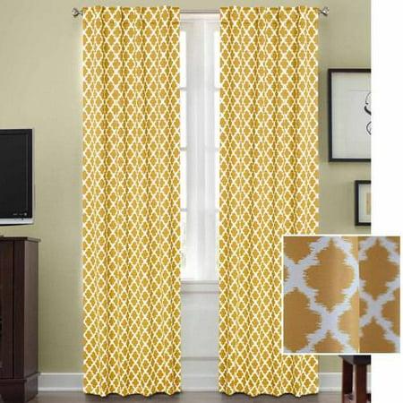 Better Homes And Gardens Tangier Room Darkening Curtain Panel Rod Pocket