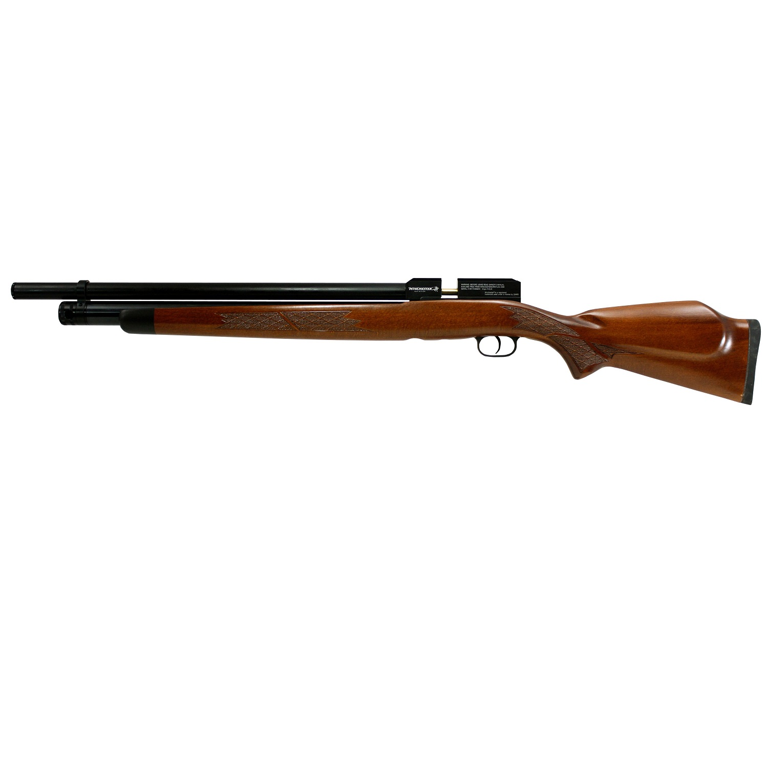 Click here to buy Gamo 611120154 Big Bore 70-35 Air Rifle Side Lever with rotary Magazine by Winchester.