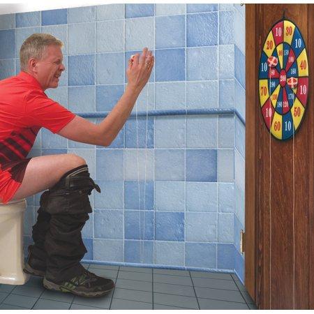 Toilet Potty Sticky Darts Dart Board Set Novelty (Best Type Of Dart Board)
