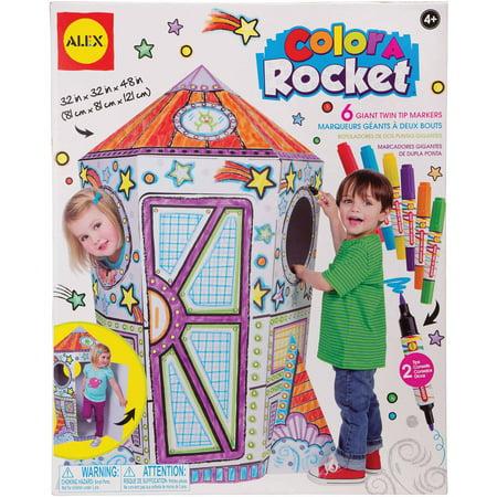ALEX Toys Artist Studio Color a Rocket