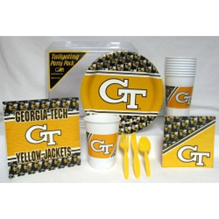 Georgia Tech Yellow Jackets Party Supplies Pack #1 - Georgia Tech Halloween Party