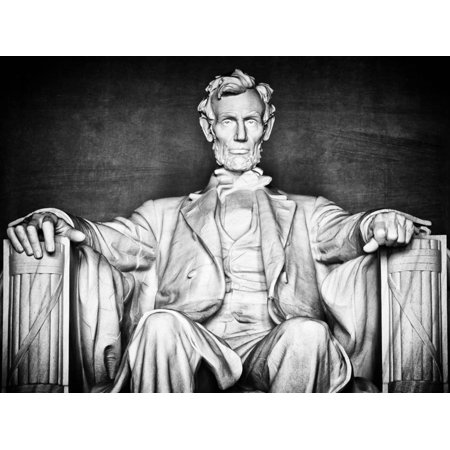 Statue of Abraham Lincoln, Washington D.C, District of Columbia, White Frame, White Frame Print Wall Art By Philippe Hugonnard](District Halloween Lincoln)
