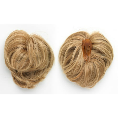 Swedish Ginger (Dancing with the Stars Hairdo Hairpiece Clip In Extension Glamarama, R10, Chestnut)