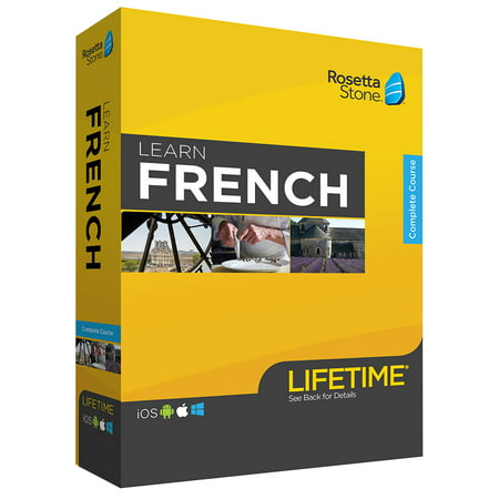 Rosetta Stone: Learn French with Lifetime Access (Rosetta Stone French Level 5)