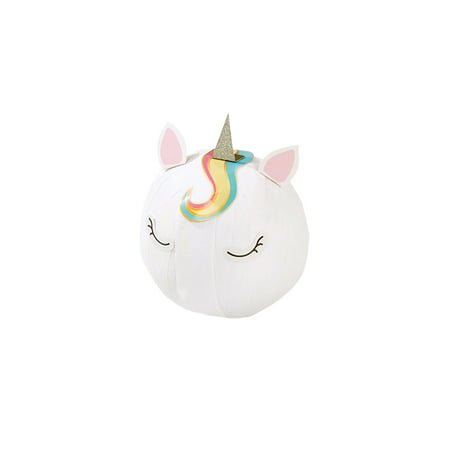 Talking Tables Unicorn Wonderball - Crepe Paper Wrapped Party Supplies - Includes Keyring, Stickers and Balloons