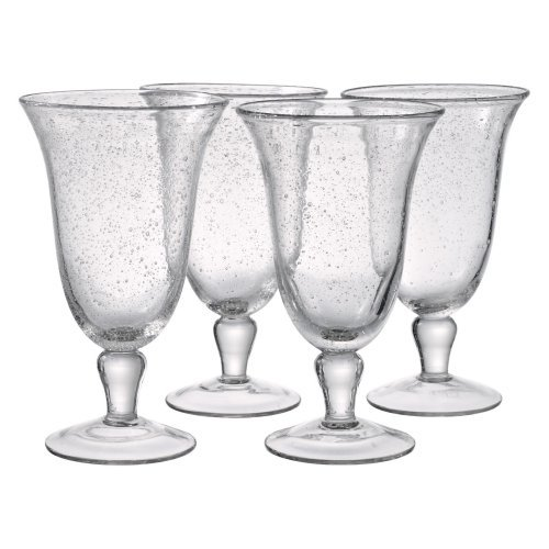 Artland Iris Footed Iced Tea Glass (Set of 4)