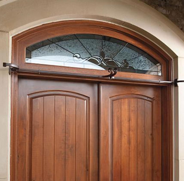 Adjustable Christmas Garland Hanger for Double Door Frames - No mess to Frames