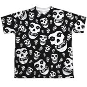 Misfits Fiends All Over (Front Back Print) Big Boys Sublimation Shirt