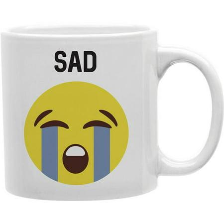 Imaginarium Goods CMG11-IGC-SAD Sad - Sad Worded Emoji Mug - image 1 de 1