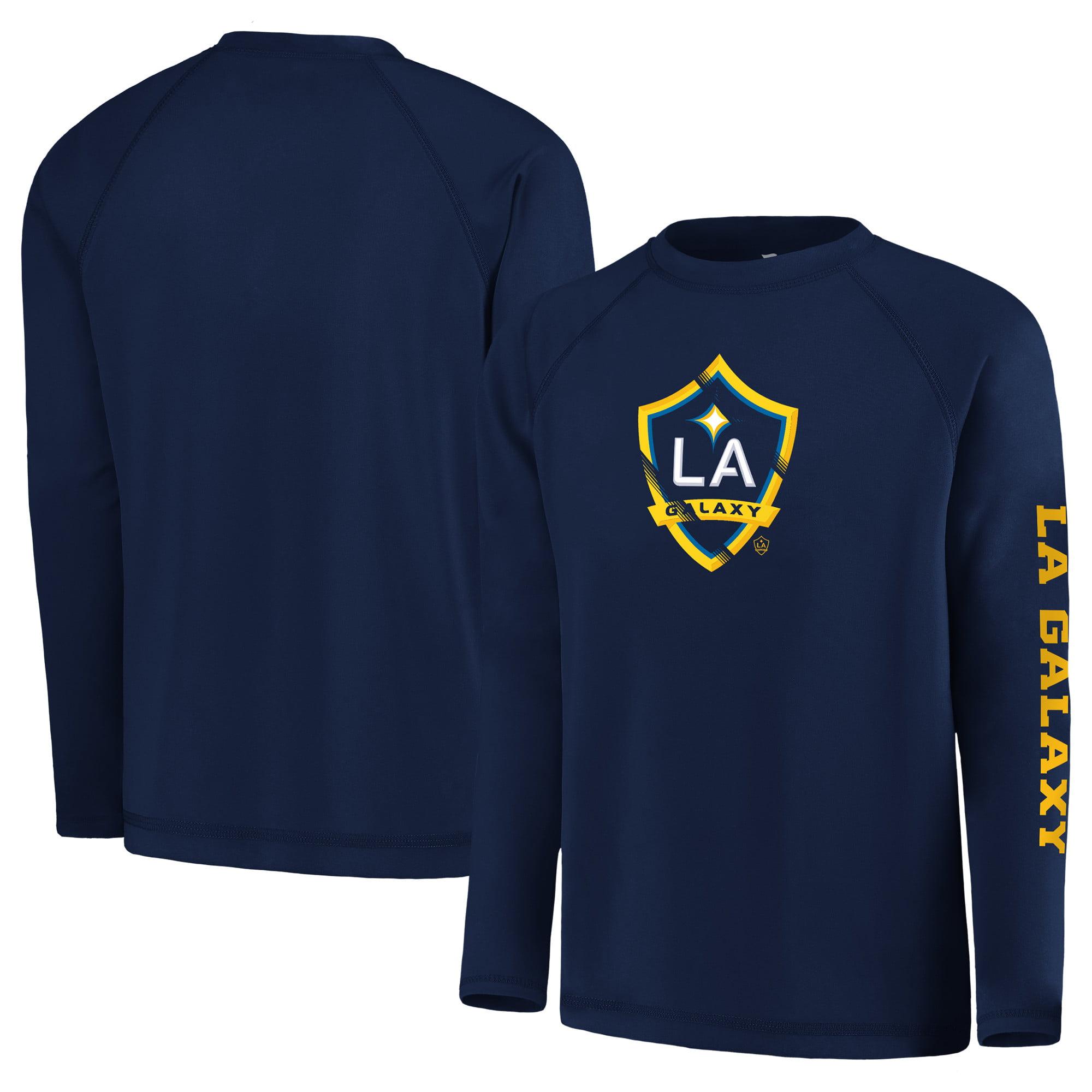 LA Galaxy Fanatics Branded Youth Vital to Success Long Sleeve T-Shirt - Navy