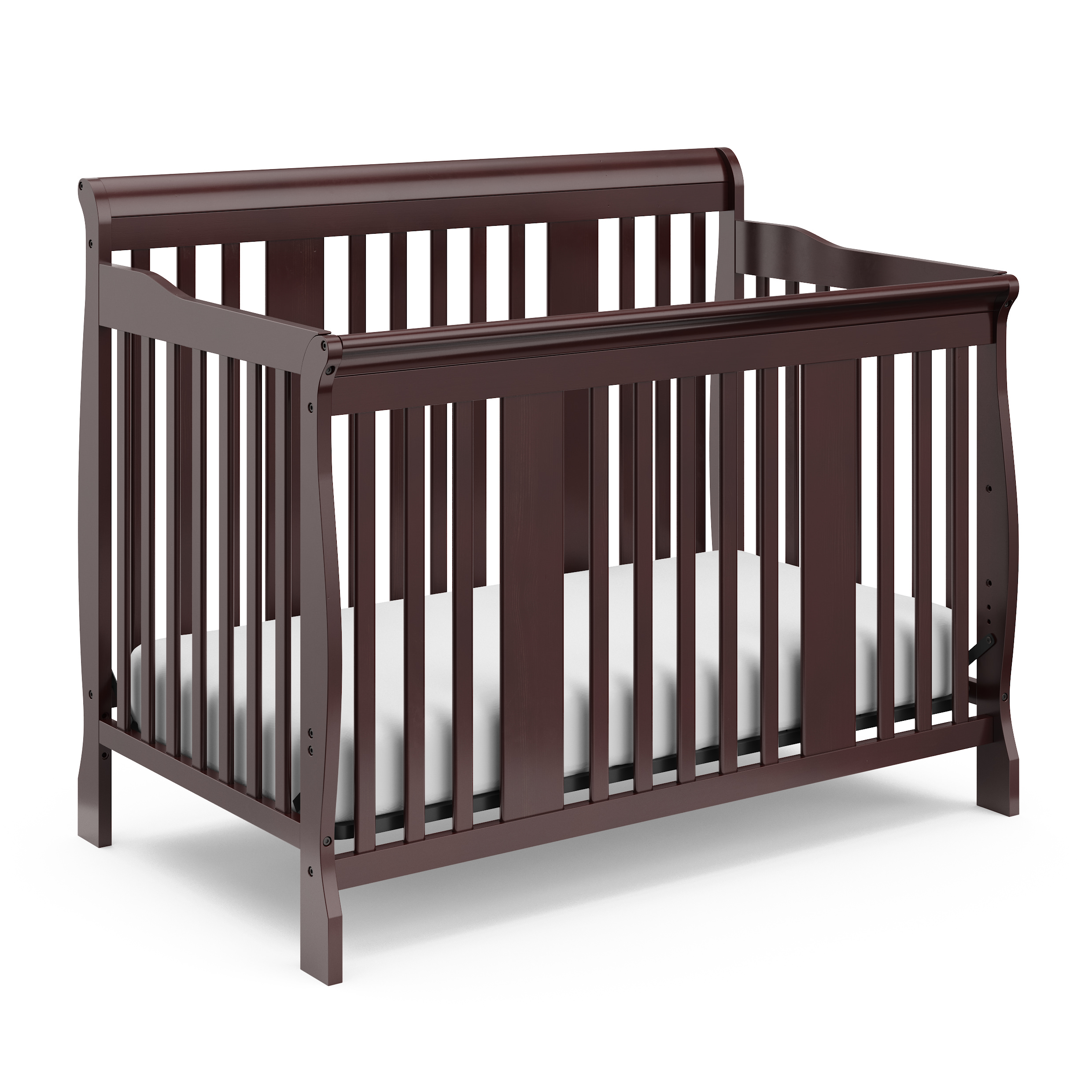 Storkcraft Tuscany 4 in 1 Convertible Crib White