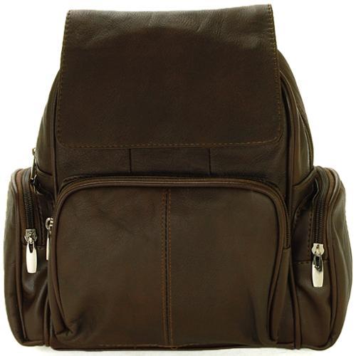 Women's Leather Backpack Purse Adjustable Strap Handbag Organizer Pocket Bag New Brown One Size