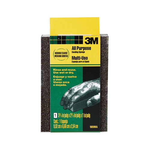 3M COMPANY 909NA Medium/Coarse Flex Sponge