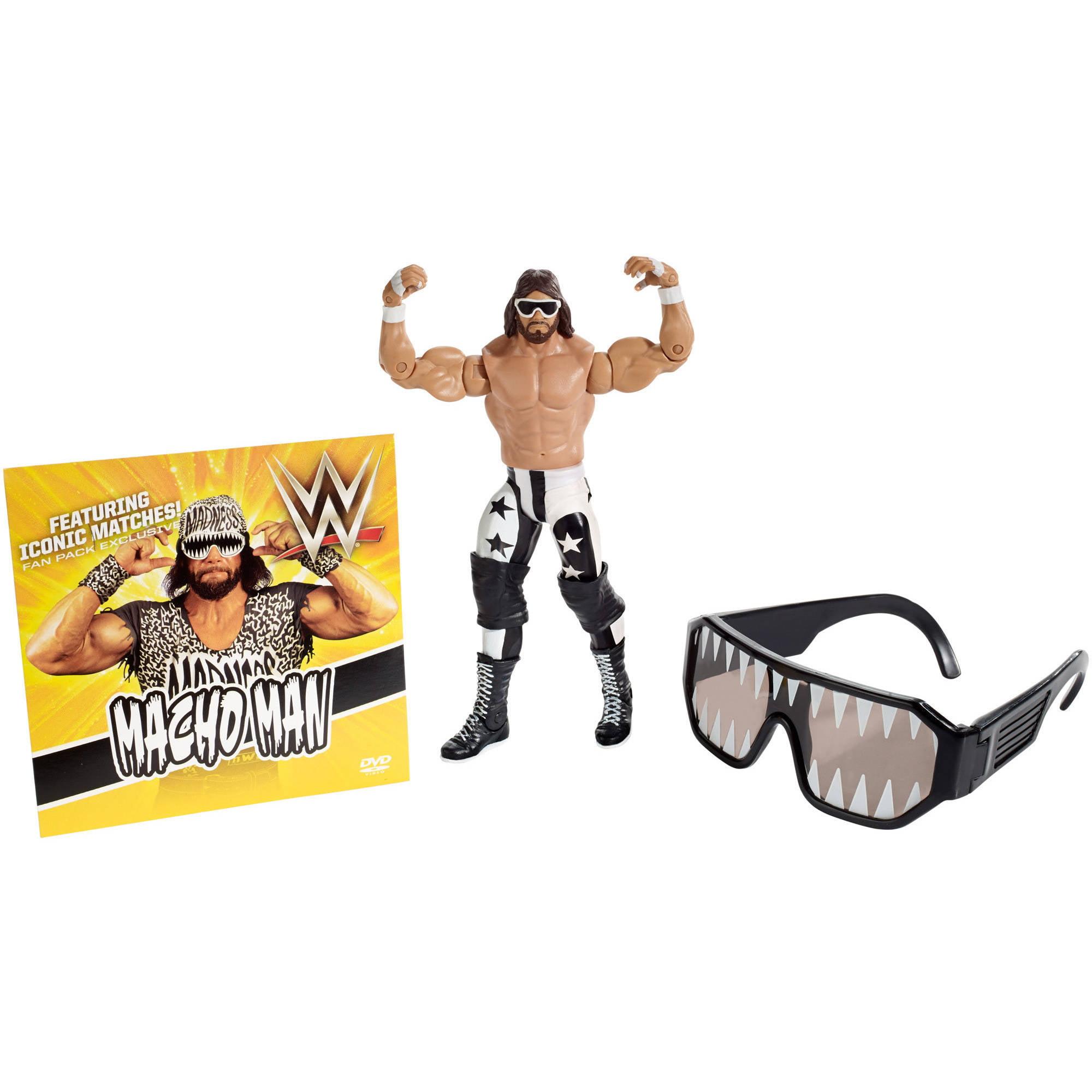 WWE Macho Man Fan Pack by Mattel