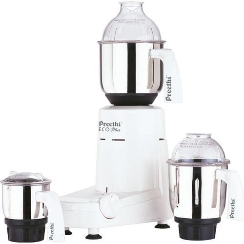 Preethi Eco Plus 550 Watts 3 Jar Mixer Grinder