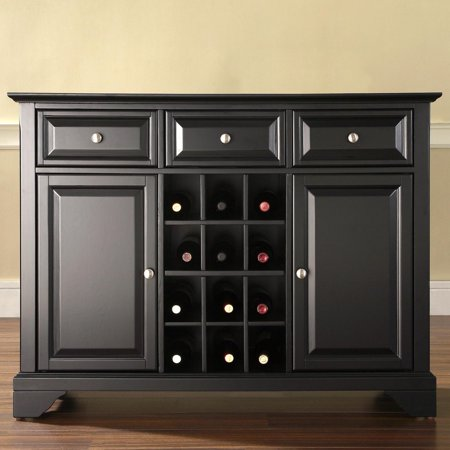 Crosley Furniture LaFayette Buffet Server and Sideboard Cabinet with Wine - M Buffet Coupon