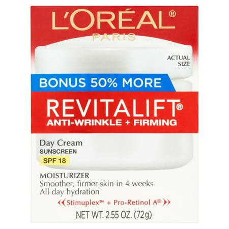 Revitalift Crème Hydratante Jour Crème solaire SPF 18 255 oz