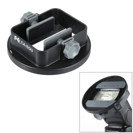 CA-SGU Universal Flash Speedlite Mount Adapter Bracket Accessories for Nikon Canon Yongnuo Godox Sigma Andoer Neewer Vivitar Speedlight Barn Door Mini