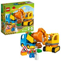 LEGO DUPLO Town Truck & Tracked Excavator 10812 (26 Pieces)