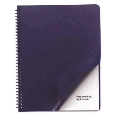 Swingline GBC Leather-Look Presentation Covers for Binding Systems by