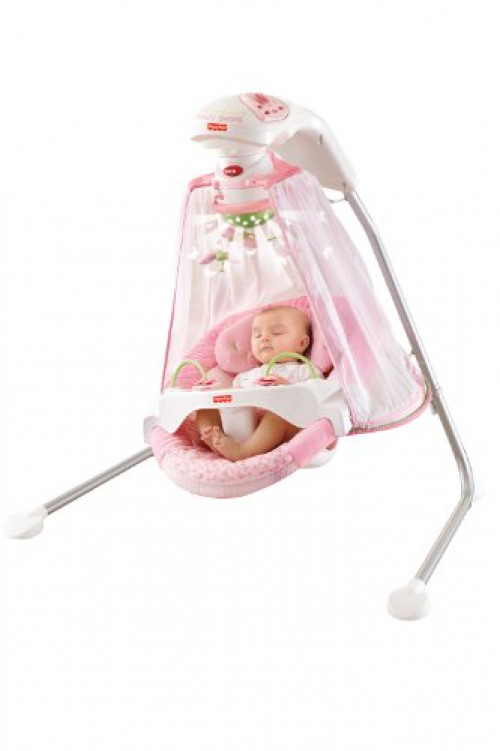 Fisher Price Papasan Cradle Swing, Butterfly Garden by Fisher-Price