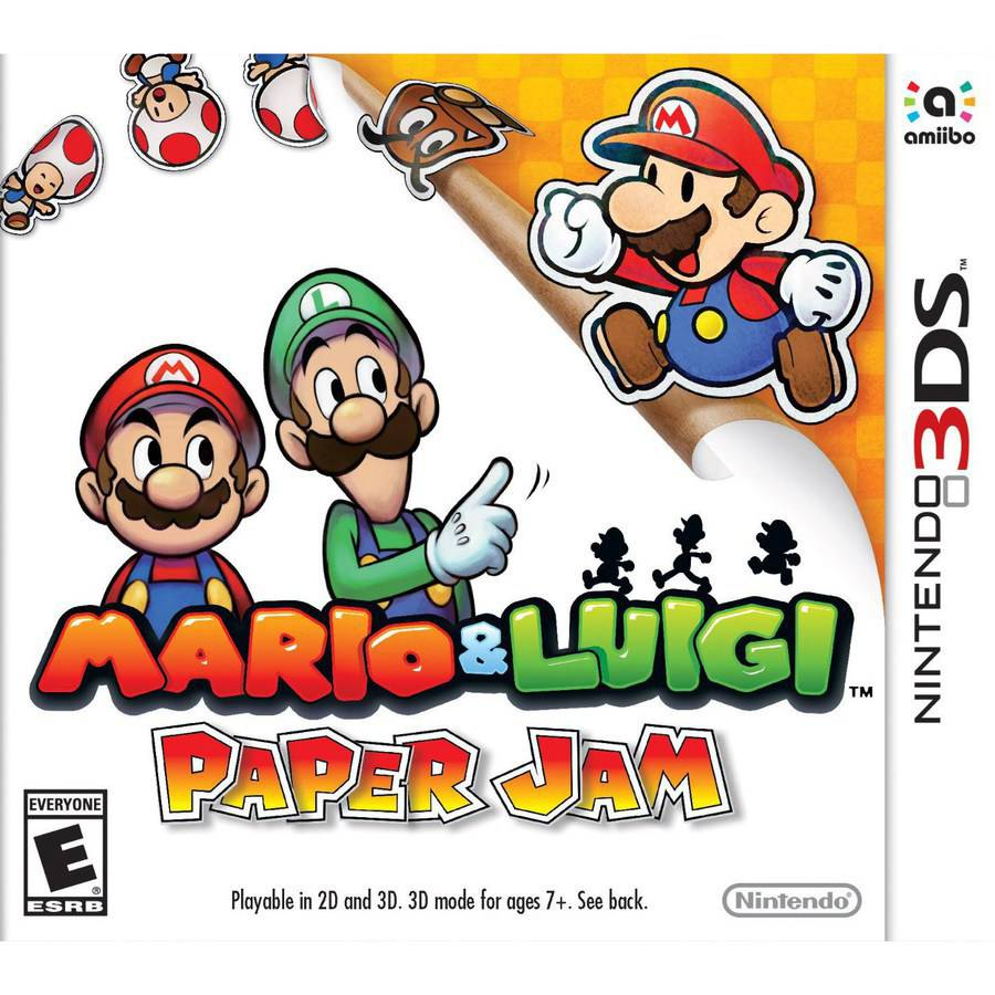 Mario and Luigi Paper Jam (Nintendo 3DS)