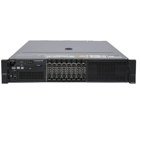 "Refurbished Dell PowerEdge R730 8 x 2.5"" Hot Plug 2x E5-2630v3 Eight Core 2.4Ghz 64GB 8x 500GB H330 - image 1 de 3"