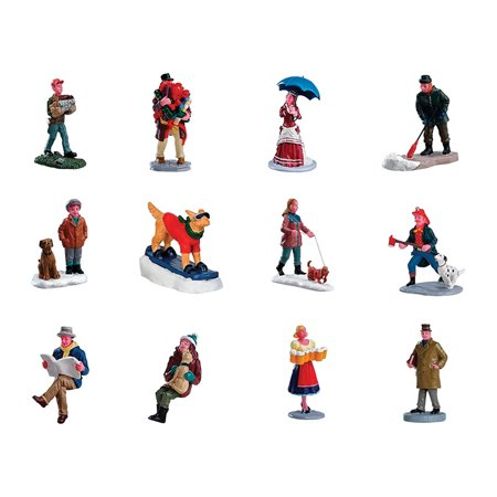 Lemax Village People Figurine Village Accessory Assorted Resin 3 in. ()