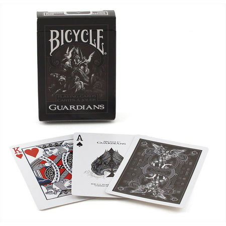 Bicycle Guardian Playing Cards,  Card Games by U.S. Playing - Playing Card Theme