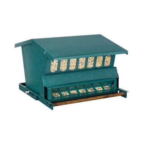 Heritage Farms Absolute Squirrel Proof Bird Feeder Green