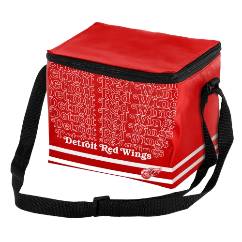 Detroit Red Wings Impact 6-Pack Cooler - No Size