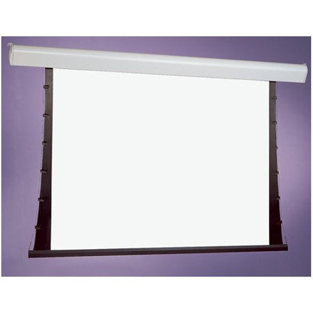 Draper Silhouette Series V White Electric Projection Screen Low Voltage Motor by