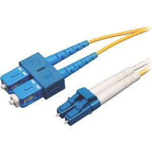 Tripp Lite 50m Duplex Singlemode 8.3/125 Fiber Patch Cable (LC/SC)