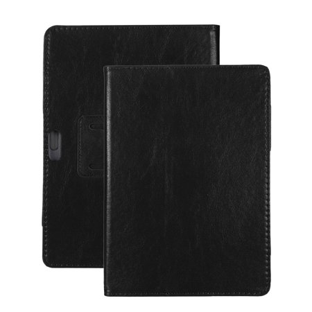Universal Folio Leather Stand Cover Case For 10 10.1 Inch Android Tablet PC (Prime Pc Tablet Cases)
