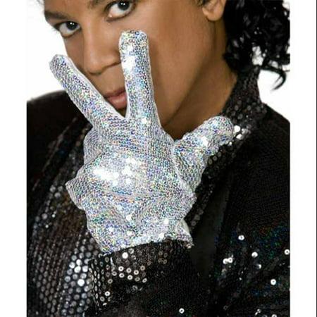 Michael Jackson Billie Jean Glove Adult Costume Accessory - Michael Jackson Costume Billie Jean