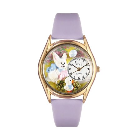 Easter Bunny Watch Small Gold Style