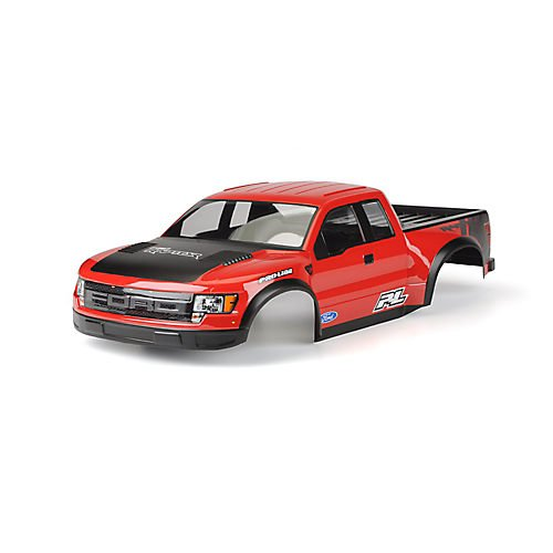 Painted & Cut Ford F150 Raptor SVT Body,Red :PRO2