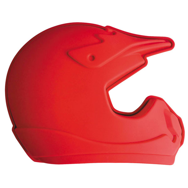 Smooth Industries Helmet Cake Pan Red