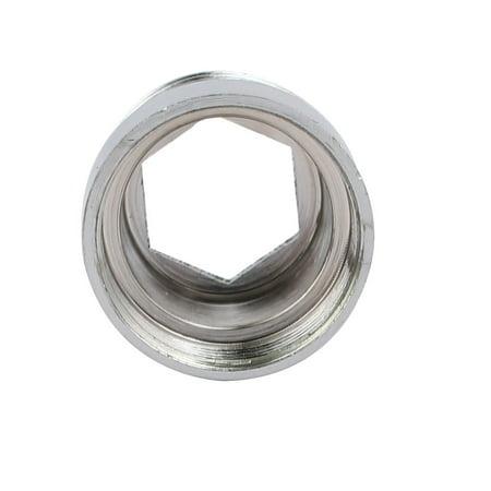 Unique Bargains 3pcs 1/2BSP Male to M20 Female Thread Copper Faucet Adapter Connector - image 1 de 3