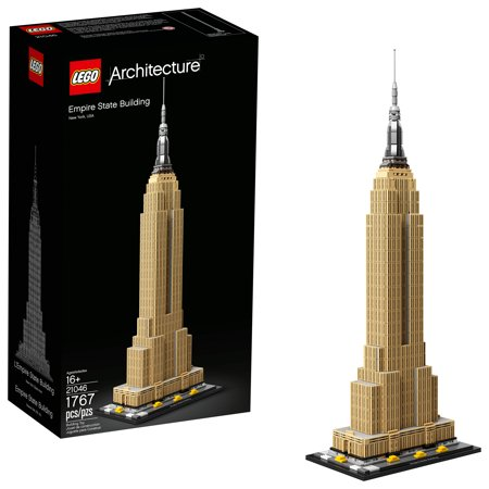 LEGO Architecture Empire State Building Model Skyscraper Building Kit 21046