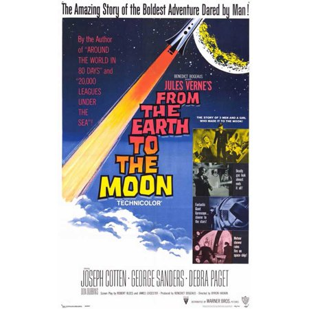 From the Earth to the Moon - movie POSTER (Style A) (11
