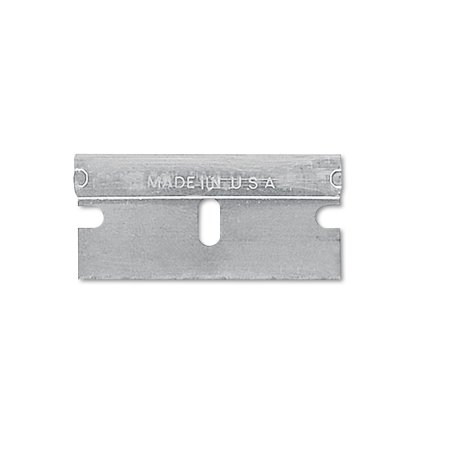 Sheffield Single Edge Safety Blades for Standard Safety Scrapers, 10/Pack