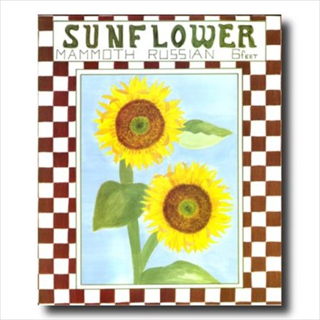 Country Sunflower Kitchen Folk Wall Picture Art Print