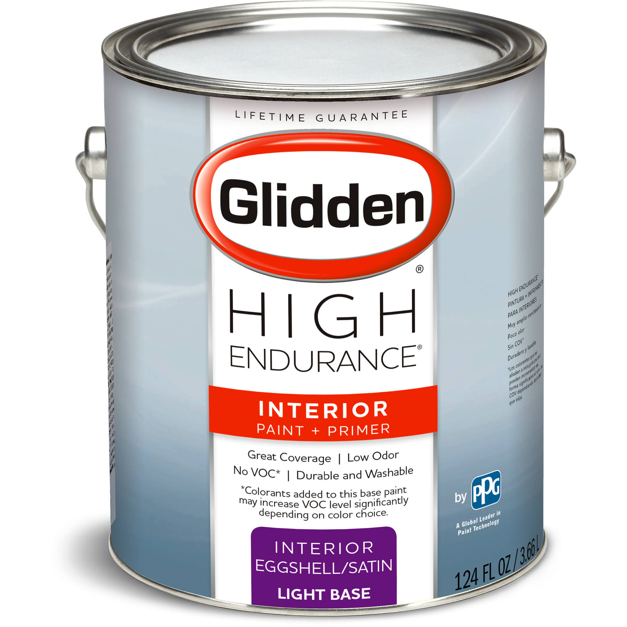 High Endurance Light Base Eggshell Interior Paint, 1-Gallon